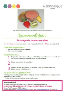 affiche smoothies